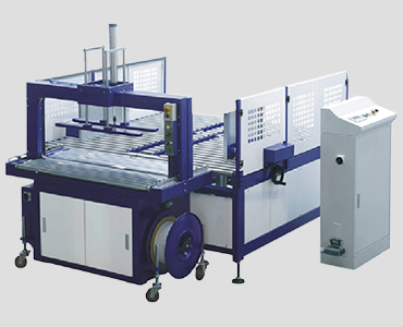 Corrugated Squaring and strapping system